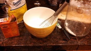 Golly gee whisk, Batman!  Whisks are so effective!