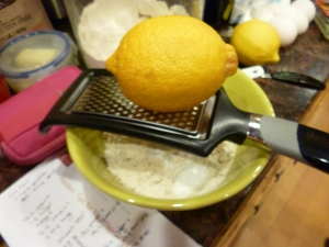 Sometimes I just get bowled over by how grate lemons are!
