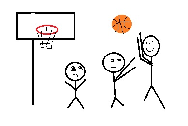 I think this is pretty good considering I googled 'basketball' and 'basketball hoop'