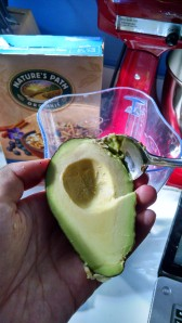 Ah, the admirable avocado (certainly not PIT(i)ful in this picture)
