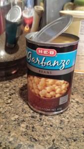 It's a garnanbo!  A Zoganba!  I meant a garnanza!  (Or did I?  Everything gets garbled sometimes... )